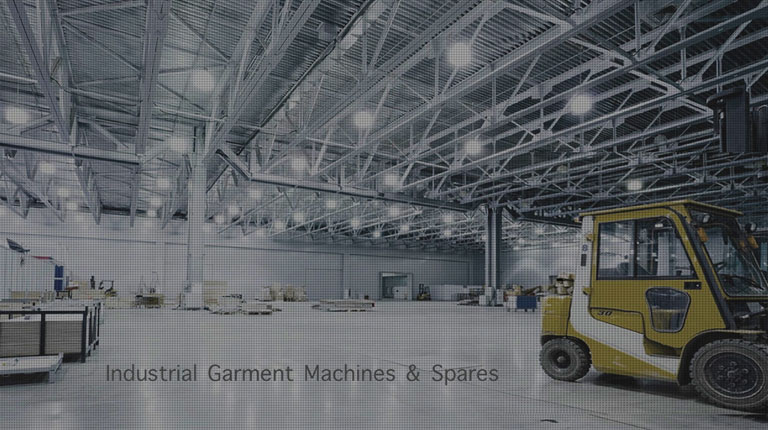 Industrial Garment Machines and Spares - Mobile