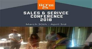 Annual Sales & Service Conference - 2018