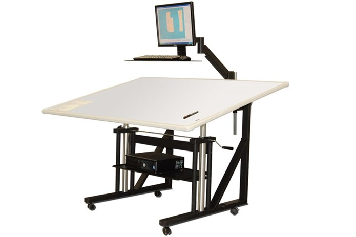Buy gerber silhouette digital pattern table online in for Plotter de mesa