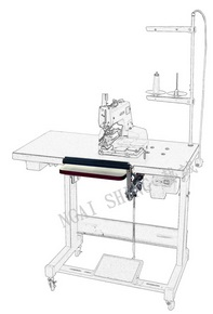 NS-6023, Sleeve Placket Button Stitching Clamp