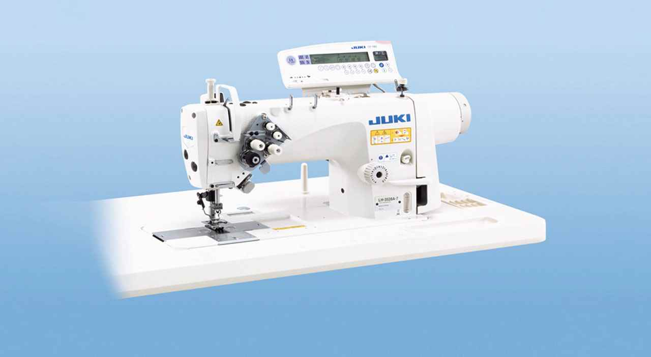 Juki LH-3500 Double needle lockstitch machine